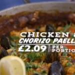 Jamie Oliver chicken and chorizo paella on Jamie's Money Saving Meals