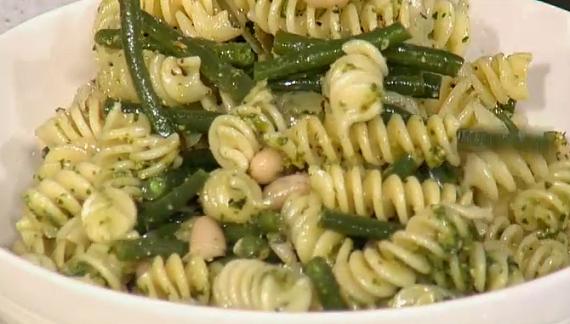Phil Vickery Simple summer pesto pasta salad recipe on ...