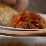 Jamie Oliver spiced sausage cassoulet recipe on Jamie's Money Saving Meals