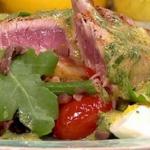 James Tanner Warm Tuna Nicoise Recipe on Lorraine