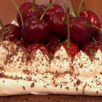 Gino black forest gateau with cherries  recipe from the eighties on Let's Do Lunch