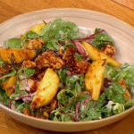 Gino Warm Pears and Blue Cheese Salad recipe on Let's Do Lunch