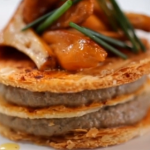 Michel Roux Jr  Mushroom millefeuille recipe on Food and Drink