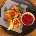 Gino Crispy Squid with homemade chilli jam recipe Let's Do Lunch