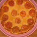 Gino D'acampo Sweet apricot tart recipe on Let's Do Lunch with Melanie Sykes