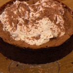 Gino D'Acampo  Mississippi mud pie with cookie dough recipe on Let's Do Lunch with Melanie Sykes