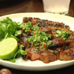 Bill Granger Sweet and sticky barbecue steak recipe on Lorraine