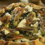 Yotam Ottolenghi Swiss chard and herb tart with Corsican cheese recipe on Mediterranean Feast