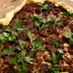 Stevie Parle Turkish lamb pizza recipe and Emma Grazette vegetable Turkish pizza recipe on The Spice Trip cumin trail