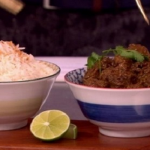 Dean Edwards Fragrant beef rendang curry recipe on Lorraine