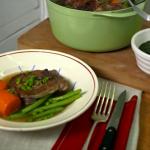 Rachel Khoo spring lamb stew  recipe on The Little Paris Kitchen