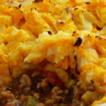 Classic hearty shepherds pie recipe by Sally Bee on Lorraine