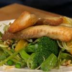 Simon Rimmer crispy tilapia salad recipe on Daily Brunch