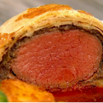 Simon Rimmer beef wellington recipe on Daily Brunch