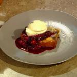 James Martin blueberry  muffin cake dessert recipe on  Christmas Kitchen