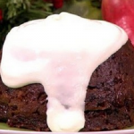 Sally Bee healthy Christmas pudding recipe on Lorraine