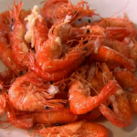 Rick Stein prawns with aioli  mayo sauce recipe on Saturday Kitchen