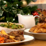 Gino roast potatoes and honey roasted carrots recipe on Let's Do Christmas with Gino and Mel
