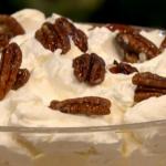 Gino Christmas pudding trifle dessert recipe on Let's Do Christmas