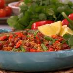 Bill Granger tomato rice with chorizo and cumin recipe on Lorraine