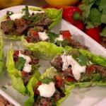 John Whaite Beef kebabs with a twist recipe on Lorraine