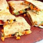 Sally Bee Squash and chilli mexican quesadillas recipe on Lorraine