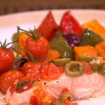 Dean Edwards Mediterranean salmon parcels recipe on Lorraine