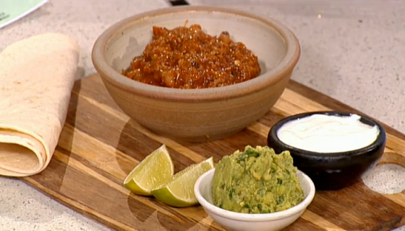 Phil Vickery Texas beef chilli recipe on This Morning ...