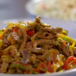 Cyrus Todiwala beef chilli flash-fry recipe on  Food and Drink