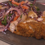 Phil Vickery fried chicken with slaw recipe on This Morning