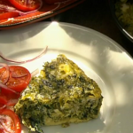 Rick Stein wild green omelette recipe on  Saturday Kitchen