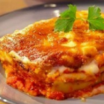 Mary's Kabocha squash ricotta cannelloni with spinach recipe on Mel and Sue