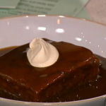 Phil Vickery sticky toffee pudding recipe on This Morning