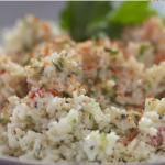 Cyrus Todiwala yoghurt rice recipe on  Food and Drink with Tom Kerridge