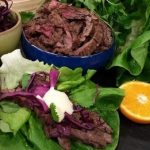 John Whaite Korean beef fajitas recipe on Lorraine