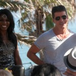 The X Factor: Sinitta Strikes Again With a Stunning Outfit At  Simon Cowell's Judges House