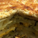 Nigel Barden Cheshire cheese and onion pie recipe on Radio 2 Drivetime