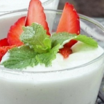 Shelina Permalloo coconut and white chocolate mousse recipe on Lorraine