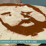 Leon Ockenden hot cross bun cake with beer recipe on This Morning
