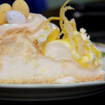Mary Berry's Easter lemon pavlova  recipe on Bake Off Easter Masterclass