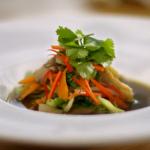 Raymond Blanc's oyster mushroom broth recipe on Kew on a Plate
