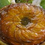 Raymond Blanc onion tart with beetroot  recipe on Kew on a Plate