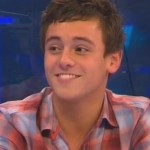UK Diving Sensation Tom Daley Supports Wagner In The X Factor