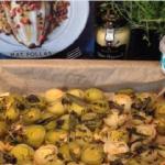 Nigel Barden Lemon Sole with Shrimp  and Baked Leeks recipe on Radio 2 Drivetime