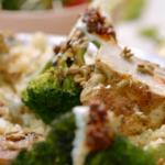Jamie Oliver warm chicken salad recipe on 15 Minute Meals