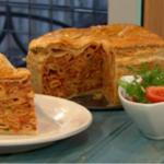 Simon Rimmer Maltese Timpana Pasta Pie Recipe on Sunday Brunch
