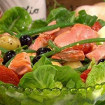 Dean Edwards salmon nicoise salad recipe on Lorraine