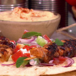 Dean Edwards chicken shawarma recipe on Lorraine