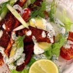 James Tanner  Cajun Salmon Salad recipe on Lorraine
