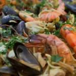 Maria Valencian fideua seafood  recipe on Nigel Slater: Eating Together